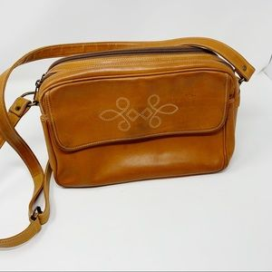 VTG Italian Leather Crossbody Bag